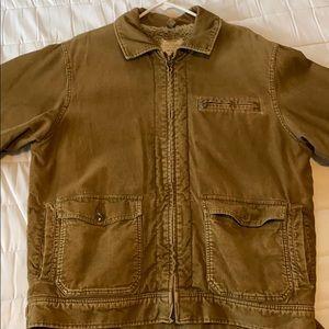 Brown corduroy jacket American Eagle